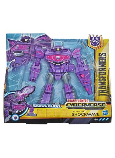 Transformers Transformers Cyberverse Büyük Figür Shockwave Renkli